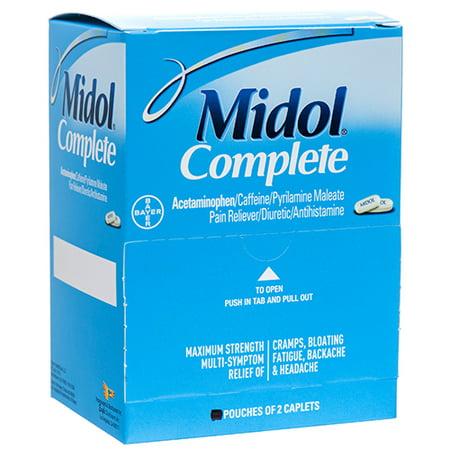 New 370143  Midol Menstrual Complete (20-Pack) Cough Meds Cheap Wholesale Discount Bulk Pharmacy Cough Meds