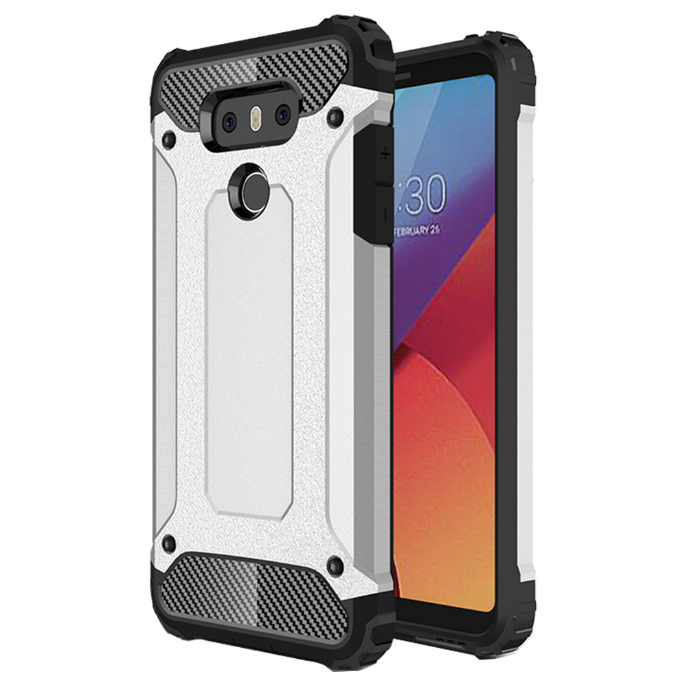 super popular 81ce2 6967c LG G6 Armor Hybrid Dual Layer Shockproof Touch Case Cover