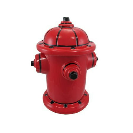 Fire Hydrant Ceramic Cookie Jar Fireman Firefighter Home Supply Maintenance Store