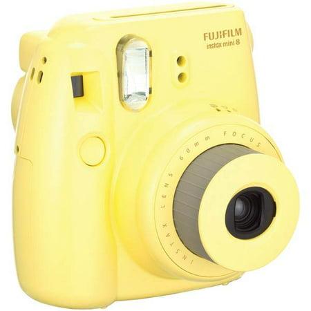 Instax Mini 8 Instant Camera - Yellow
