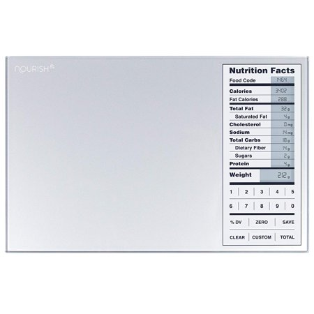Greater Goods Nourish Digital Kitchen Food Scale and Portions Nutritional Facts - Digital Nutritional Scale