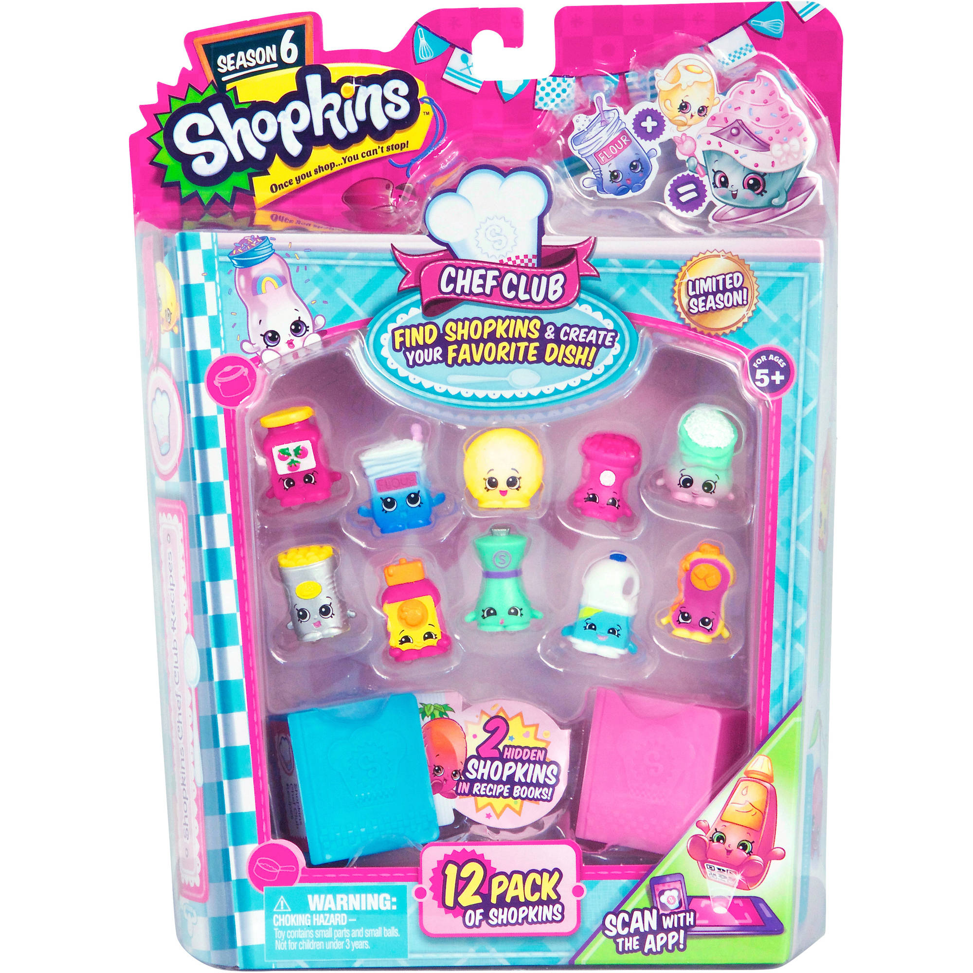 Shopkins Season 6 Chef Club, 12 Pack