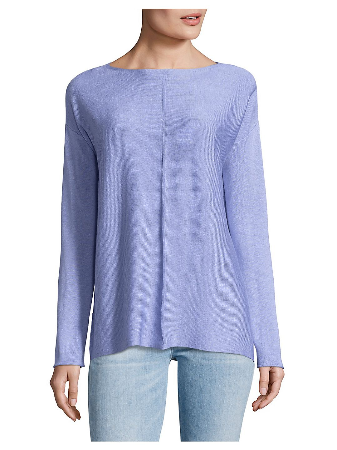 Heathered Hi-Lo Top