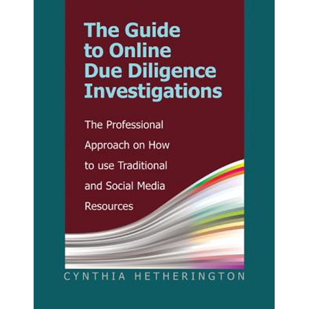 The Guide to Online Due Diligence Investigations (Paperback) - Social Media Professional Halloween