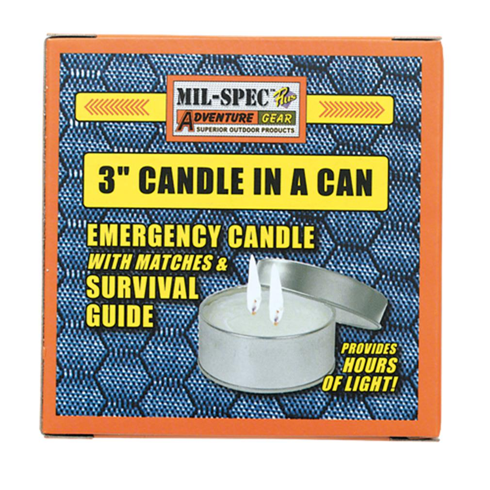 """Mil-Spec 3 Candle in a Can"" by VOODOO TACTICAL"