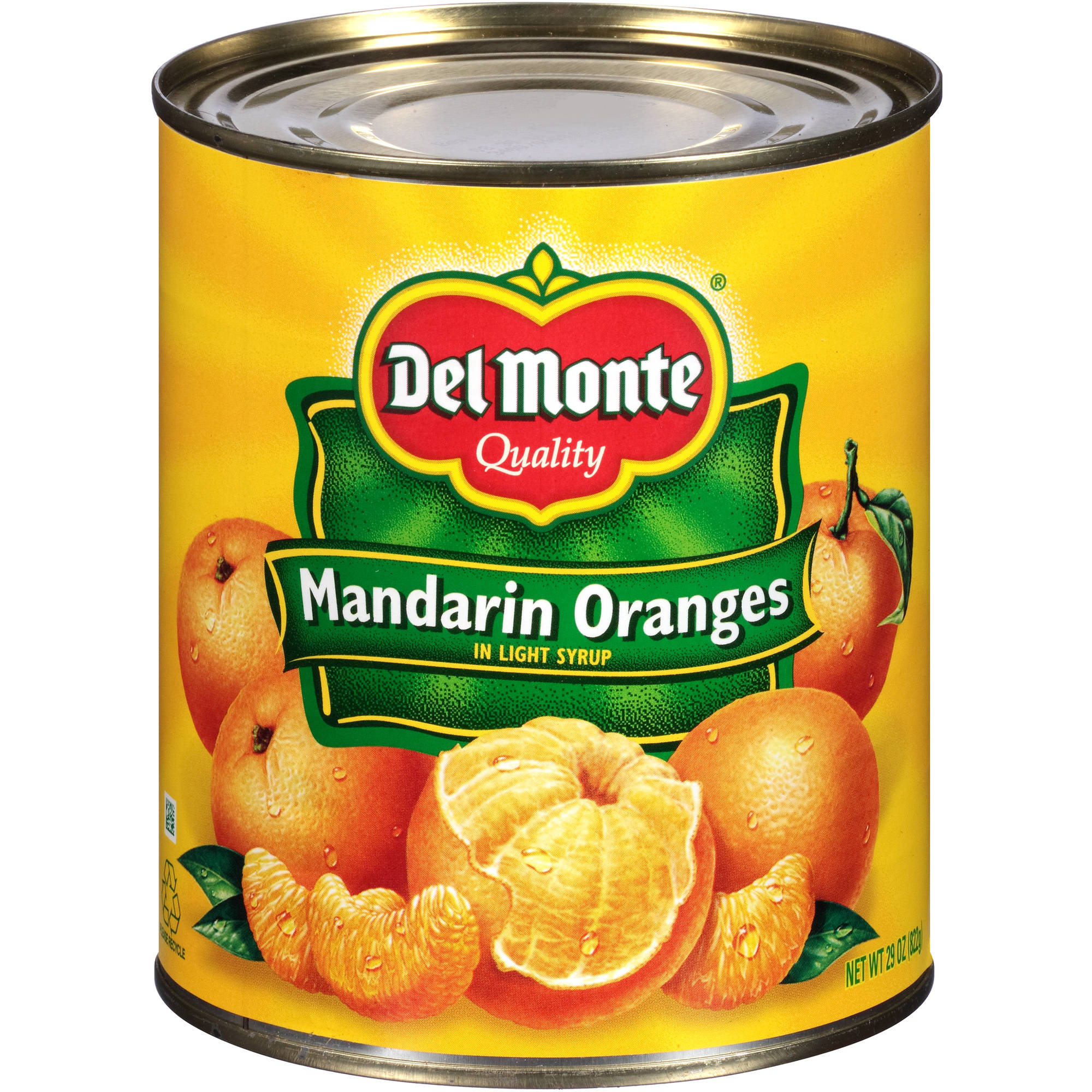 Del Monte Mandarin Oranges in Light Syrup, 29 oz