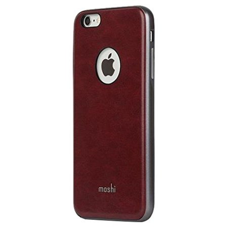 Moshi iGlaze Napa Leather Case for iPhone 6s Plus/6 Plus - Red