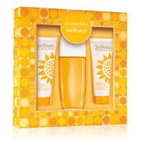 Sunflower By Elizabeth Arden Set (W) Edt Spray 3.3 Oz+Body Lotion 3.3 Oz+Body Cream/Cleanser 3.3 Oz