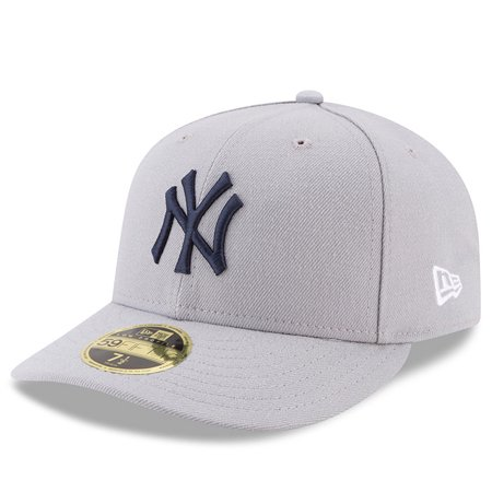 aeaf0e85bea3d New York Yankees New Era 2017 Players Weekend Low Profile 59FIFTY Fitted Hat  - Gray - 8 - Walmart.com
