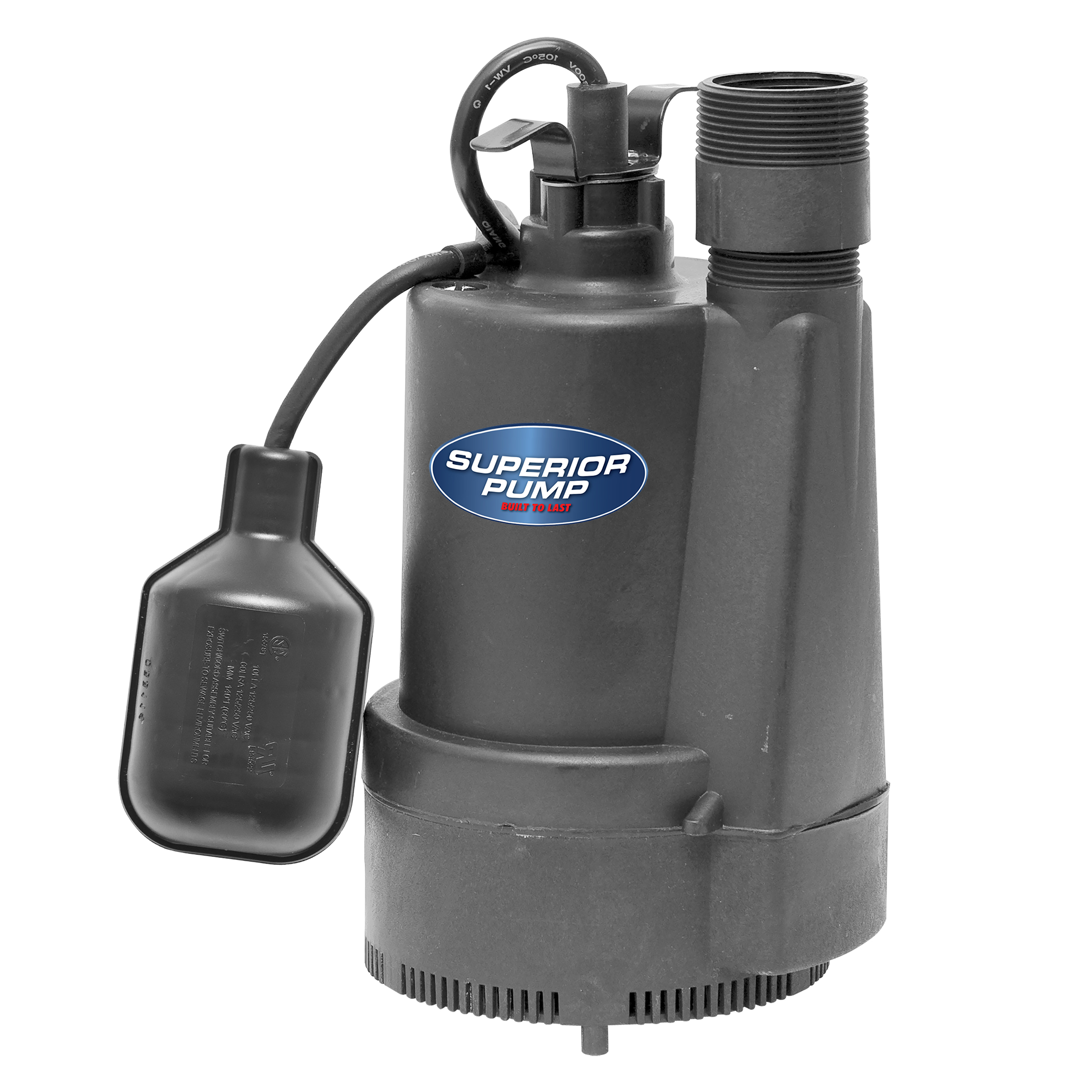 Superior Pump 1/3 HP Sump Pump