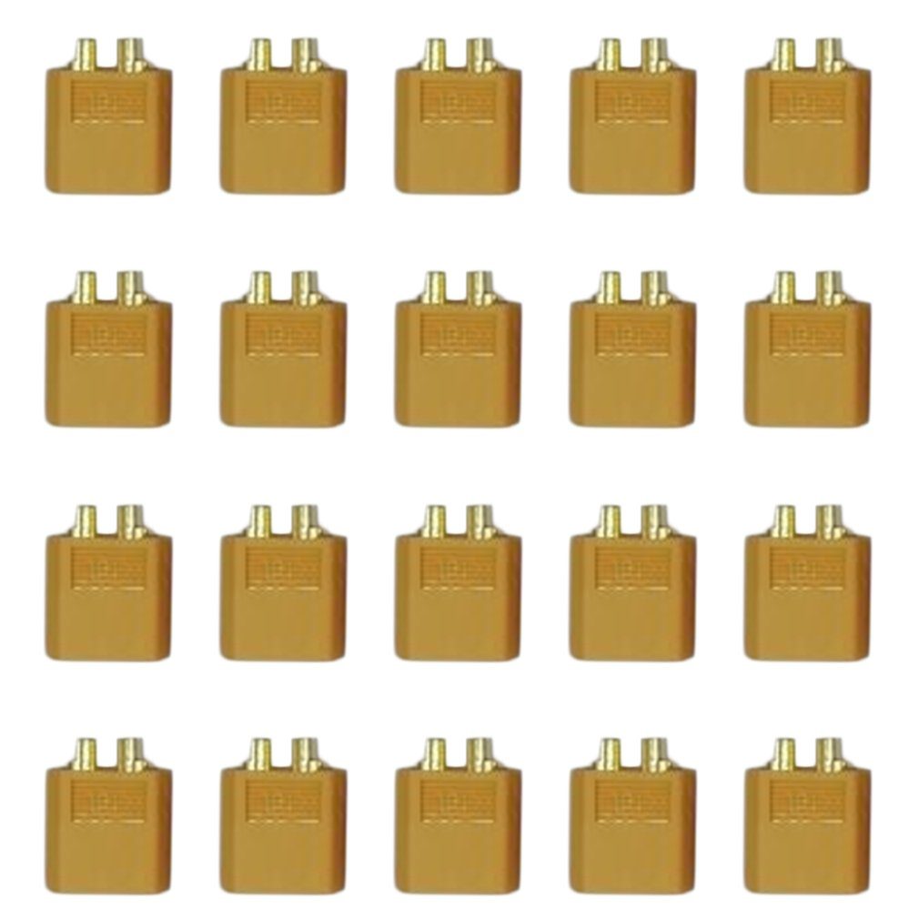 10 Pairs Xt-60 Male Female Bullet Connectors Plugs For RC Lipo Battery