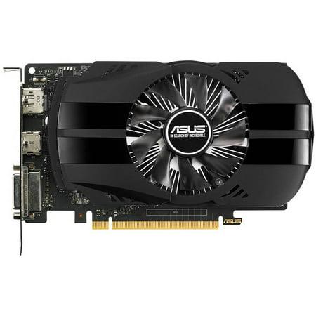 Asus Geforce Gtx 1050 2Gb Phoenix Fan Edition Dvi D Hdmi Dp 1 4 Gaming Graphics Card  Ph Gtx1050 2G  Graphic Cards