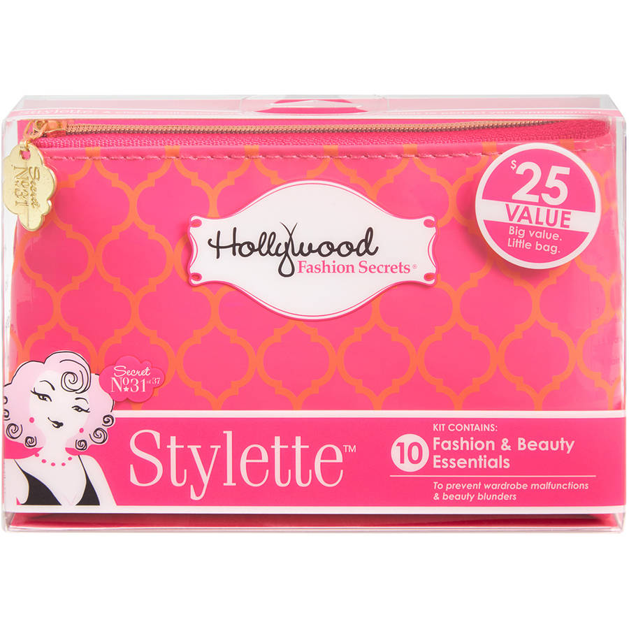 Hollywood Fashion Secrets Stylette Fashion & Beauty Essentials Kit, 10 pc