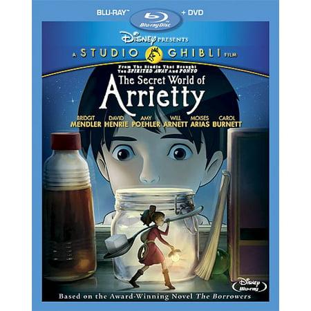 the secret world of arrietty blu ray dvd. Black Bedroom Furniture Sets. Home Design Ideas