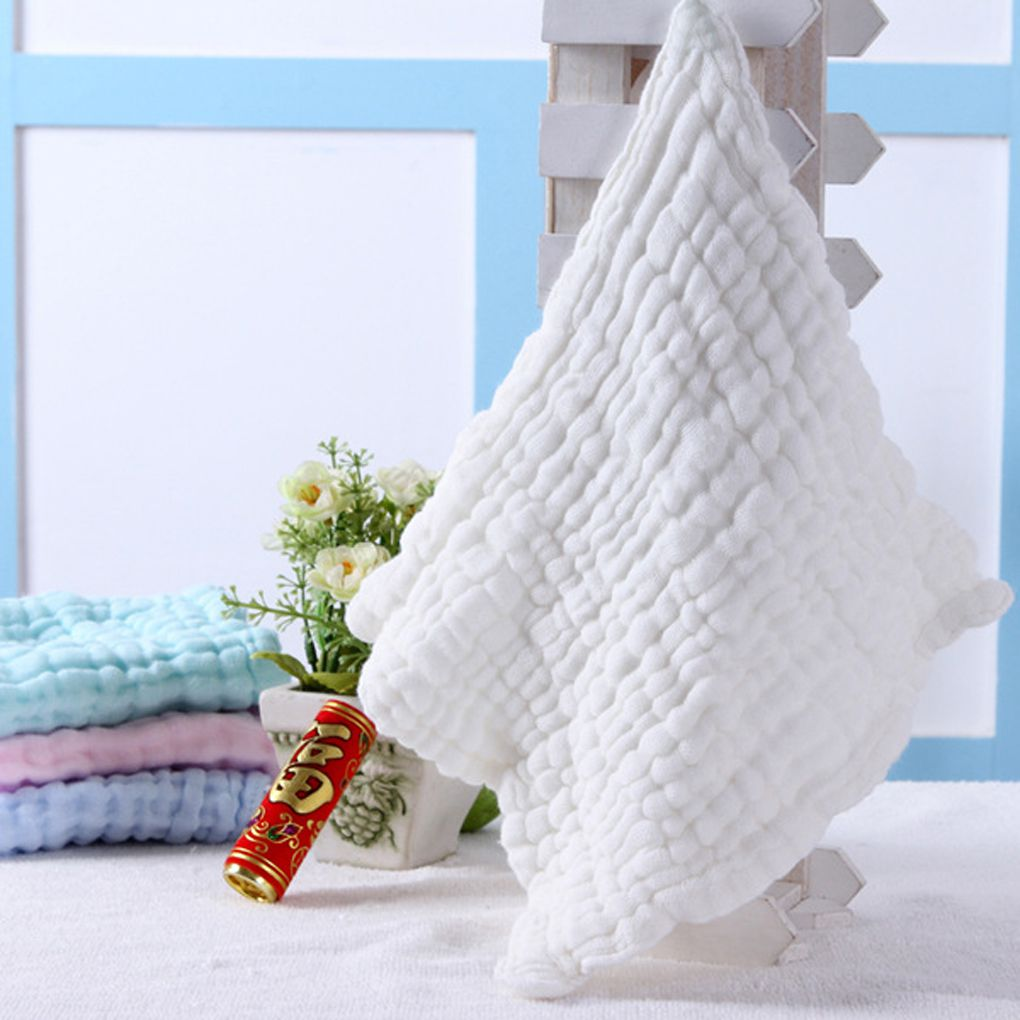 10Pcs Baby Washcloths For Sensitive Skin Washcloths Cotton Towels Gauze Square by