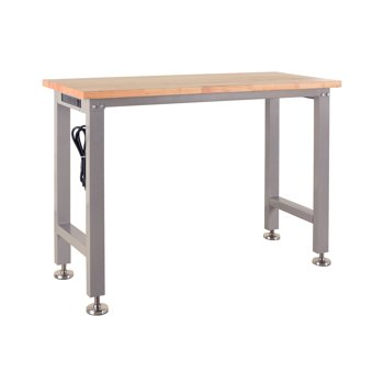 Frontier Heavy Duty 4-foot Workbench with 3 Outlets and 2 USB Ports