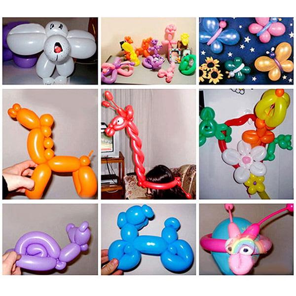 Animal Flower Twist Magic Long Latex Balloon Wedding Birthday Party Decor Xmas