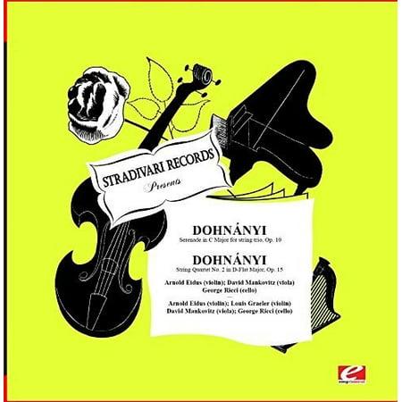 Dohnanyi: Serenade In C Major For String
