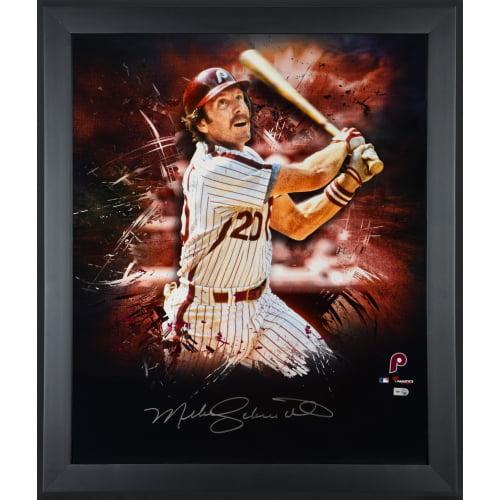 """Mike Schmidt Philadelphia Phillies Fanatics Authentic Framed Autographed 20"""" x 24"""" In Focus Photograph - No Size"""