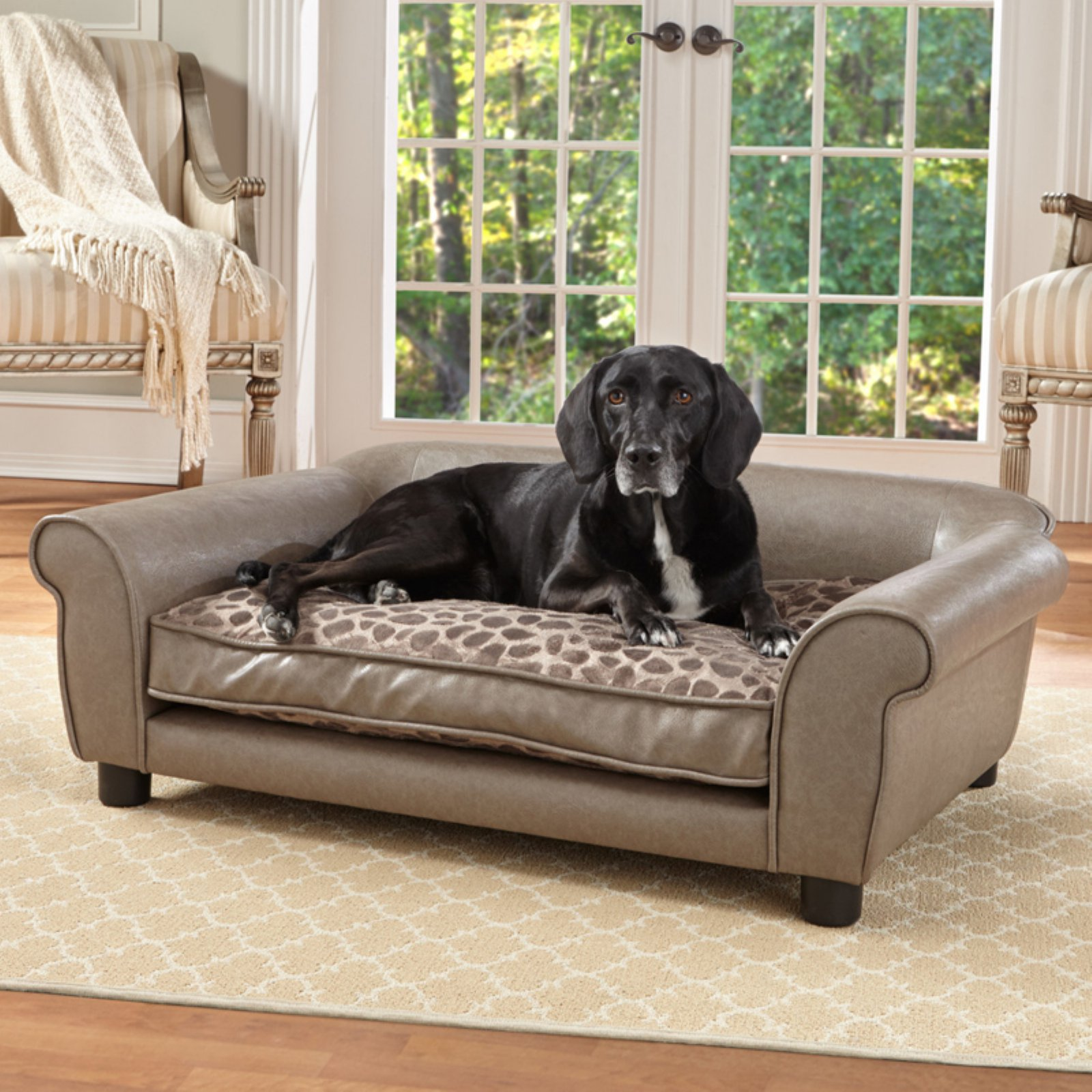 Enchanted Home Pet Rockwell Dog Sofa