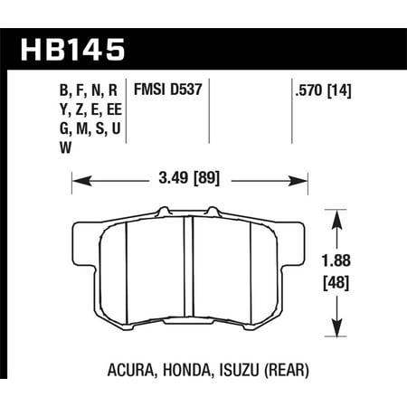 Hawk 06+ Civic Si / 97-01 Integra Type-R / 03-06 RSX / 04-08 TSX / 03-07 Honda Accord / 97-01