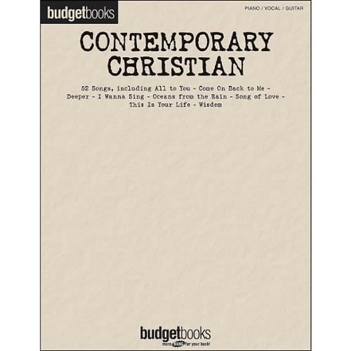 Hal Leonard Budget Books: Contemporary Christian