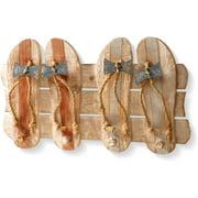 "National Tree Artificial 19"" Wood Coat Rack Decoration"