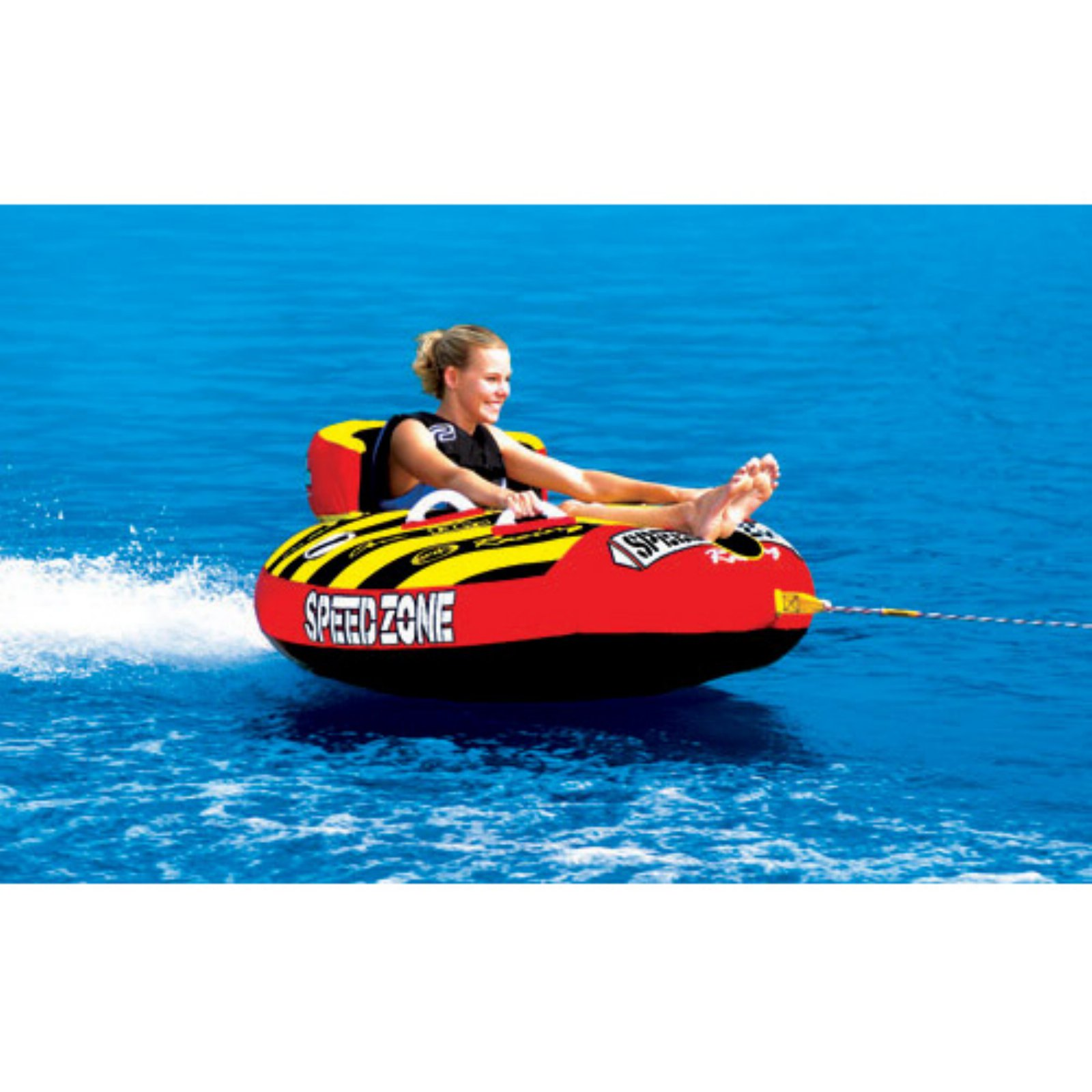 Sportsstuff Speedzone 1 Inflatable Single Rider Towable by Kwik Tek
