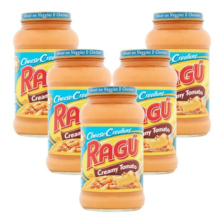 (5 Pack) Ragú Cheese Creations Creamy Tomato Pasta Sauce 16 oz.