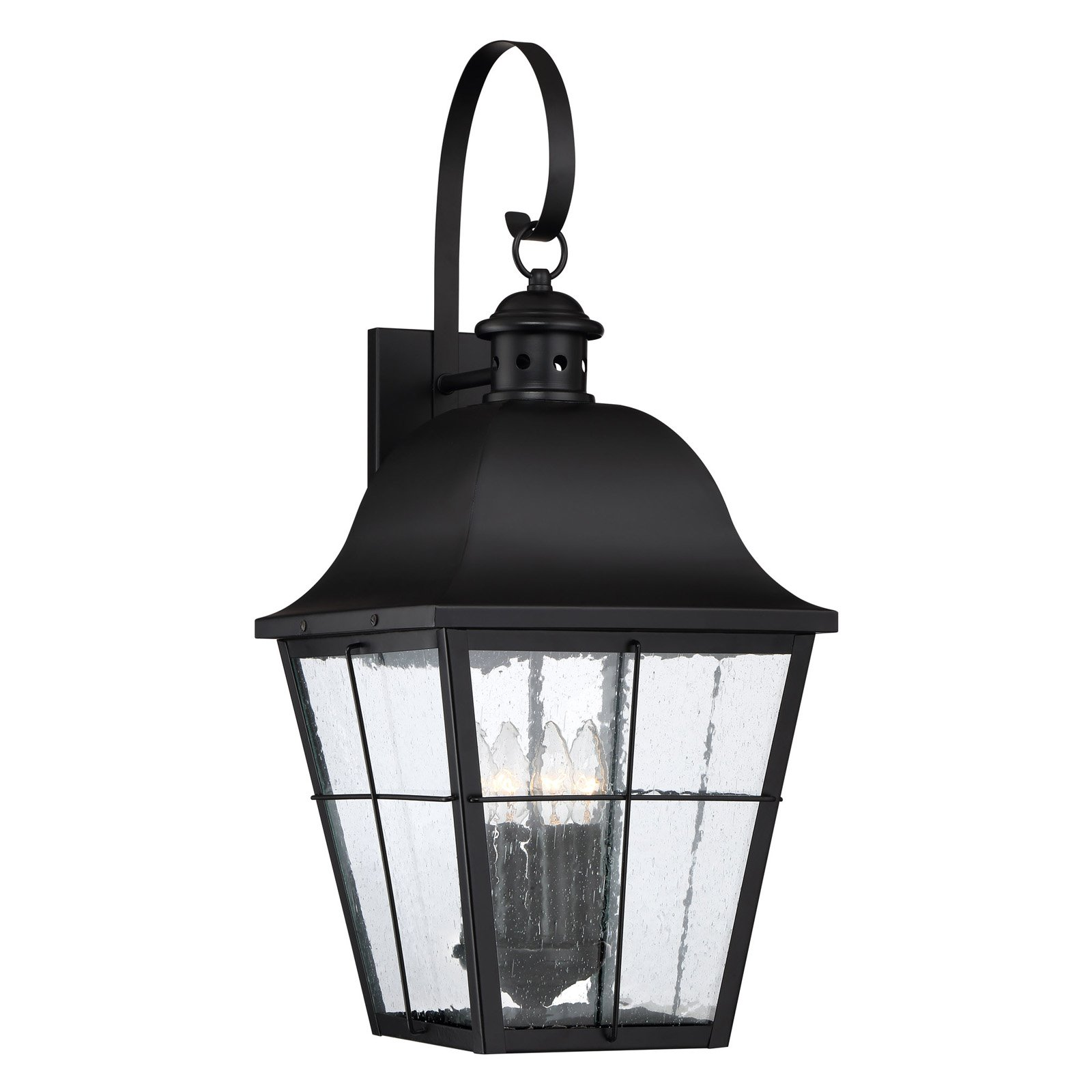 Quoizel Millhouse MHE8412K Outdoor Wall Lantern