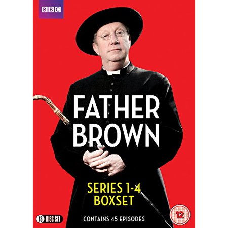 Pal Format - Father Brown (Series 1-4) - 13-DVD Box Set ( Father Brown - Series One, Two, Three & Four (45 Episodes) ) [ NON-USA FORMAT, PAL, Reg.0 Import - United Kingdom ]