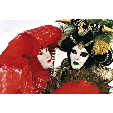 LAMINATED POSTER Move Venice Panel Masks Costume Carnival Poster Print 11 x 17 (Carnevil Costumes)