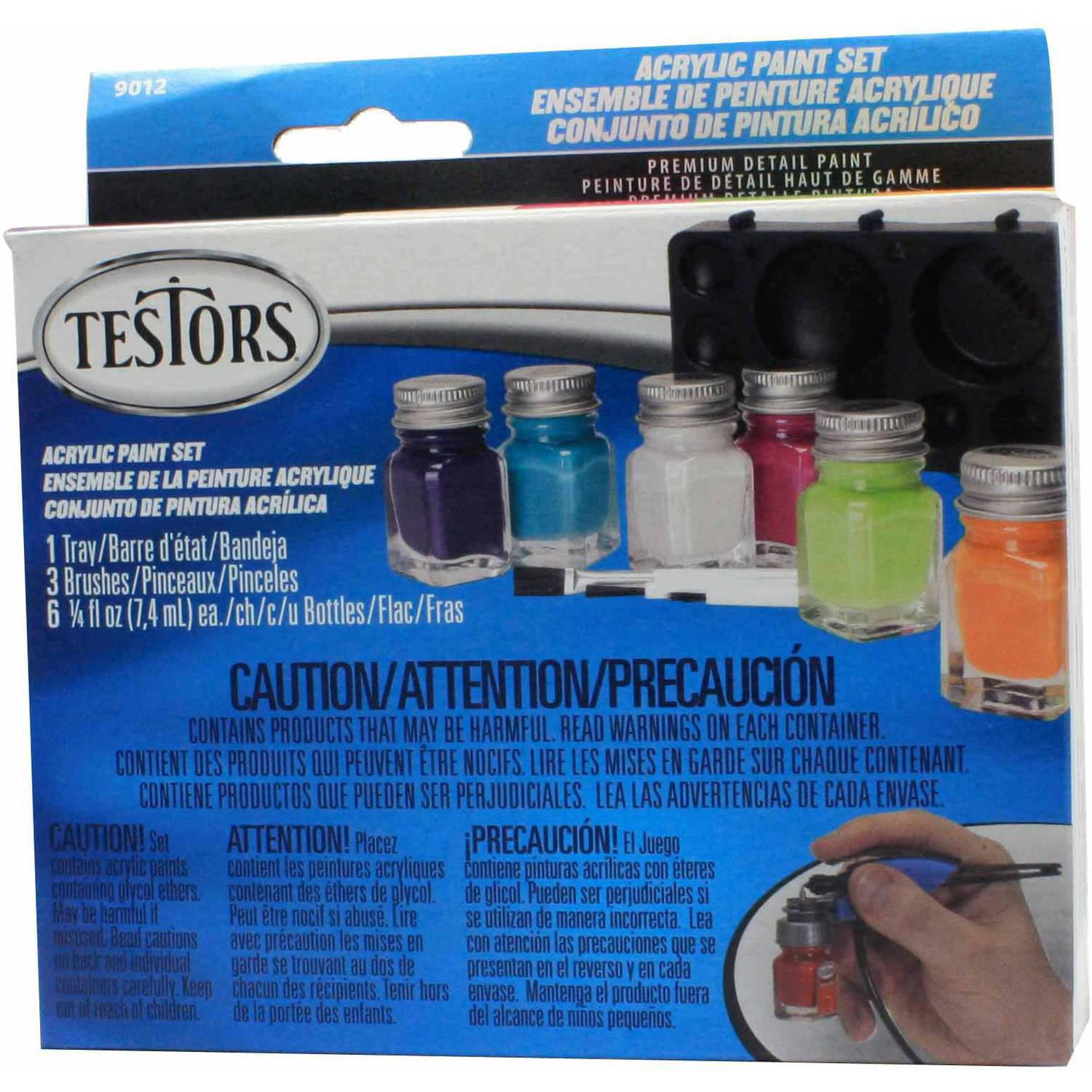 Testors Acrylic Paint Set