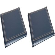Pioneer Photo Albums MP46-NAB Full Size Album 4X6 6-PAGE 300 Photo Navy Blue (2 PACK)