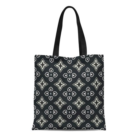 Batik Lightweight Tote (ASHLEIGH Canvas Tote Bag Accessories Pattern Artistic Bandanna Batik Bedsheets Branding Carpet Combination Reusable Shoulder Grocery Shopping Bags Handbag)
