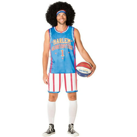 Harlem Globetrotters Uniform Men's Adult Halloween Costume