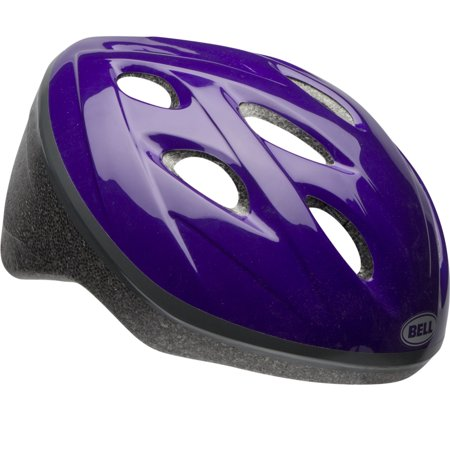 Bell Star Bike Helmet, Purple, Child 5+ (51-54cm) - Kids Steelers Helmet