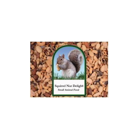 Small Squirrel (Volkman Seed Small Animal Squirrel Delight All Nut Mix Healthy Diet Food 15 lbs)