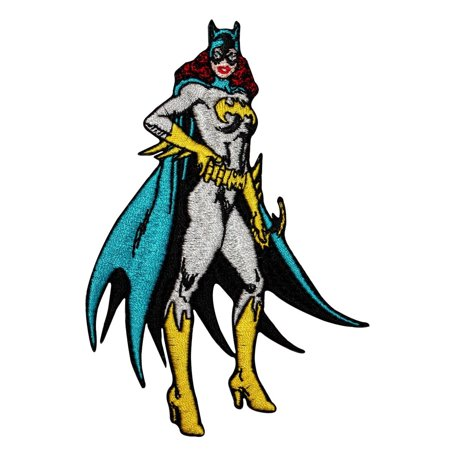 Batgirl Superhero Heroine Patch Batman DC Comics Girl Character Iron-On Applique (Batgirl 20)
