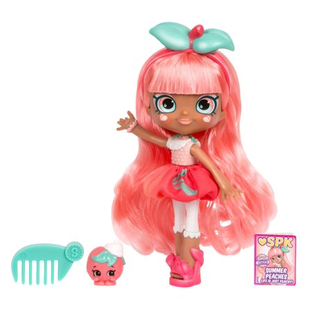 Shopkins Shoppies Doll, Summer Peaches with Her Shopkins BFF Sweetie Le Peach