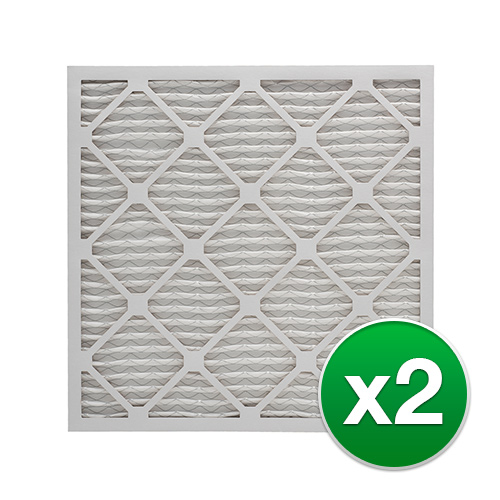 Replacement Pleated Air Filter For Honeywell FC100A1029 AC 16x25x4 MERV 13 (2 Pack)
