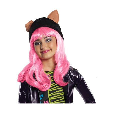 Halloween Makeup For Teens (Child Monster High Howleen Makeup Kit by Rubies 19025, One)