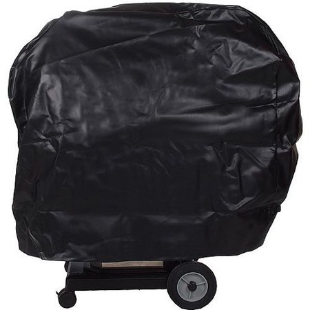 Black Vinyl Cover for Freestanding BBQ Grill Cart Black Vinyl Cover for Freestanding BBQ Grill Cart