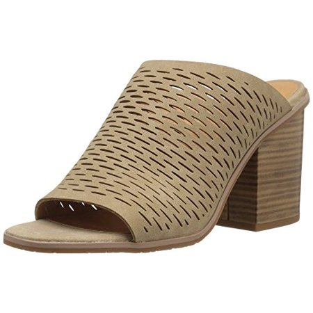 BC Footwear Women's Told You Dress Sandal, Taupe, 9 M US