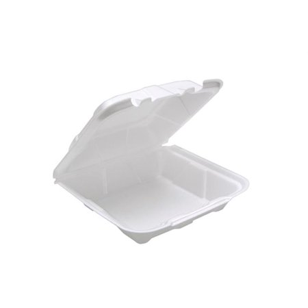8 in. Hing Lid Foam Container, White - image 1 of 1