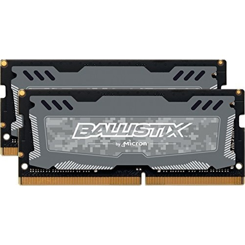 Crucial Ballistix Sport LT 32GB Kit (2x16GB) DDR4-2666 Unbuffered SODIMM Memory
