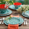 Laguna Gallery Placentia 12-Piece Melamine Dinnerware Set