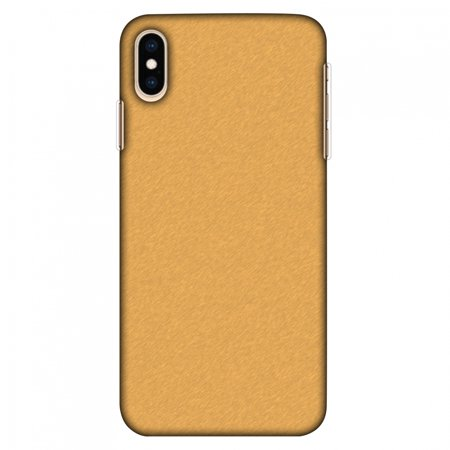 iPhone XS Max Case Tempered Glass Combo, Ultra Slim Designer Back Cover with Tempered Glass Screen Protector for iPhone Xs Max (2018) - Carbon Fibre Redux Desert Sand 14 (Sand Glass Case)