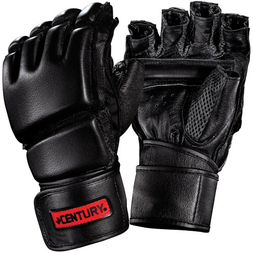 Century Men's Leather Wrap Gloves with ClinchStrap