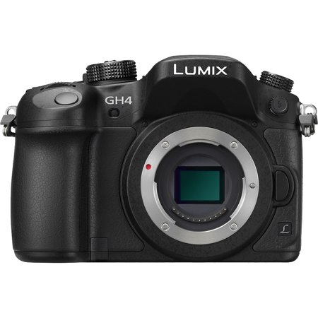 Panasonic Lumix DMC-GH4 4K Micro Four Thirds Digital Camera Body